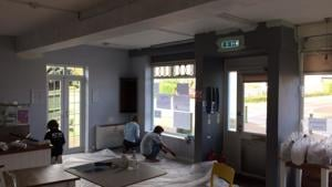 Painting a Youth Centre in Haywards Heath